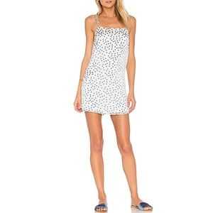 Lovers + Friends Lover boy slip dress, polka dot